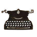 Sizzix - Tim Holtz - Alterations Collection - Bigz Die - Vintage Typewriter
