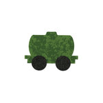 Sizzix - Bigz Die - Quilting - Train Tanker Car