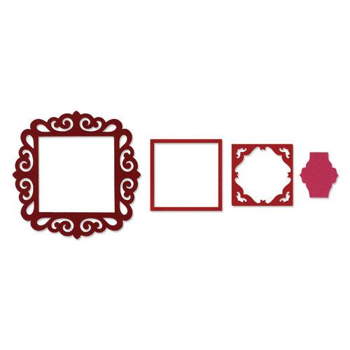 Sizzix - Framelits Die - Frame, Fancy Square