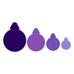 Sizzix - Framelits Die - Christmas - Ornaments, Round