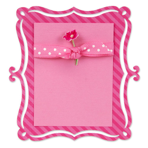 Sizzix - Home Entertaining Collection - Sizzlits Die - Large - Card, Bracket Insert