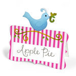 Sizzix - Home Entertaining Collection - Bigz Die - Place Card with Bird