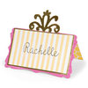 Sizzix - Home Entertaining Collection - Bigz Die - Place Card with Decorative Accent 2