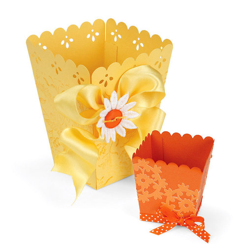 Sizzix - Home Entertaining Collection - Bigz Pro Die - Popcorn Box and Treat Cup