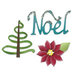 Sizzix - Sizzlits Die - Medium - Noel Set