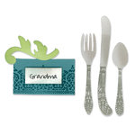Sizzix - Bigz Die - Place Card and Silverware