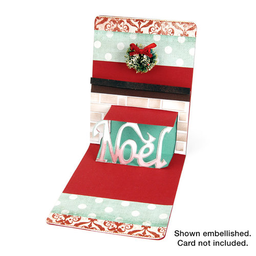 Sizzix - Pop 'n Cuts Die - 3-D Pop Up - Phrase, Noel