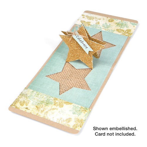 Sizzix - Pop 'n Cuts Die - 3-D Pop Up - Star
