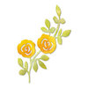 Sizzix - Botanical Sanctuary Collection -Sizzlits Die - Large - Flowers Climbing on Vine