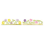 Sizzix - Botanical Sanctuary Collection - Sizzlits Decorative Strip Die - Card Edges, Flower Vines