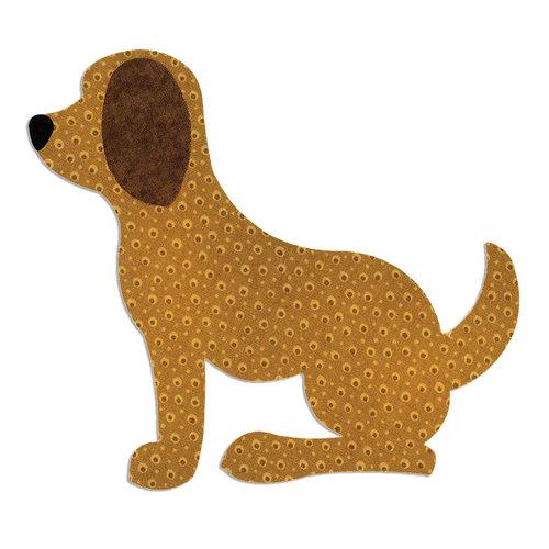 Sizzix - Bigz L Die - Quilting - Dog