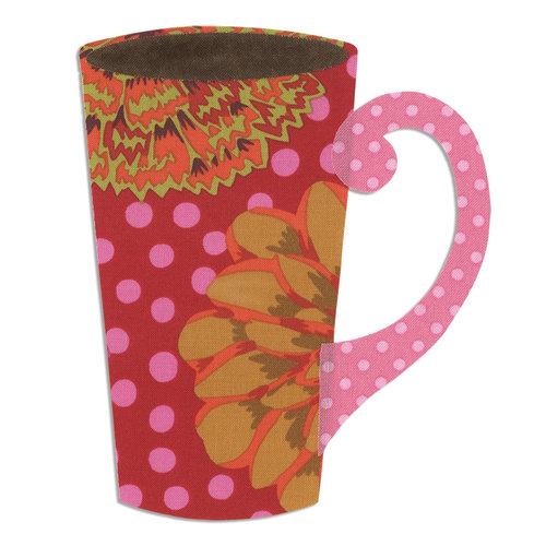 Sizzix - Bigz L Die - Quilting - Mug, Tall