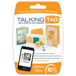 Sizzix - Air Arts - Talking Tag Audio Message Labels - 10 Pack