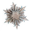 Sizzix - Tim Holtz - Alterations Collection - Sizzlits Decorative Strip Die - Snowflake Rosette