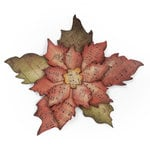 Sizzix - Tim Holtz - Alterations Collection - Bigz Die - Tattered Poinsettia