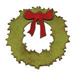 Sizzix - Tim Holtz - Alterations Collection - Movers and Shapers Die - Mini Wreath and Bow