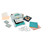 Sizzix - Big Shot Starter Kit - Powder Blue and Teal