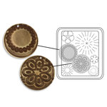 Sizzix - DecoEtch Die - Vintaj - Mod Flowers