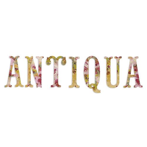 Sizzix - Sizzlits Die - Antiqua Capital Letters
