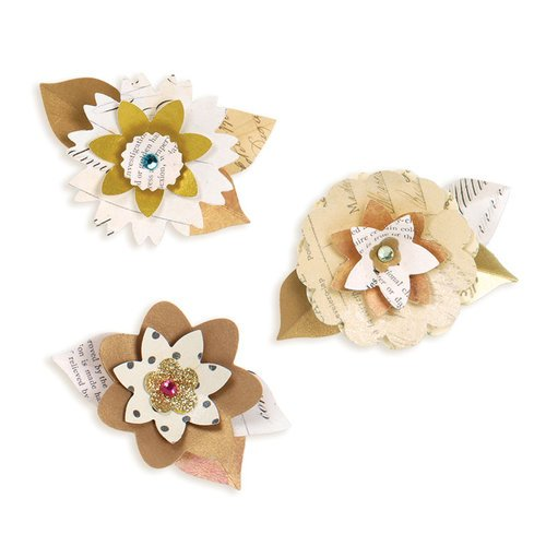 Sizzix - Sizzlits Decorative Strip Die - Summer Florals