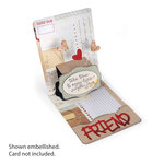 Sizzix - Pop 'n Cuts Magnetic Die - 3-D Pop Up - Frame, Wavy