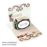 Sizzix - Bigz L Die - Pop 'n Cuts Magnetic - 3-D Pop Up - Card, Square with Ornate Edge