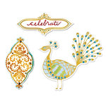 Sizzix - Moroccan Collection - Framelits Die - Peacock