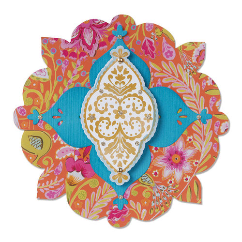 Sizzix - Moroccan Collection - Bigz Die - Label, Casablanca