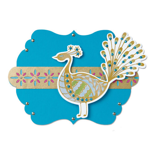 Sizzix - Moroccan Collection - Bigz Die - Label, Marrakesh