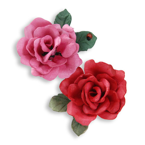 Sizzix - Susan's Garden Collection - Thinlits Die - Flower, Mini Petals