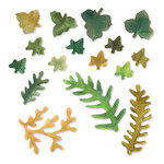 Sizzix - Susan's Garden Collection - Thinlits Die - Leaves, Fern and Ivy