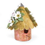 Sizzix - Susan's Garden Collection - Bigz XL Die - Birdhouse, Rounded 3-D