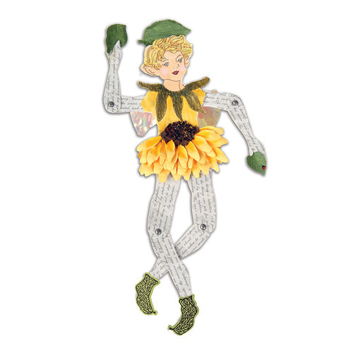 Sizzix - Susan's Garden Collection - Bigz XL Die - Garden Fairy, Movable