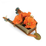 Sizzix - Susan's Garden Collection - Bigz XL Die - Wheelbarrow, 3-D