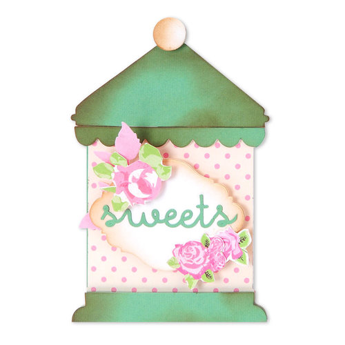 Sizzix - Antique Faire Collection - Bigz XL Die - Kitchen Canisters