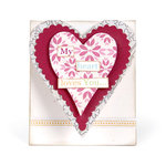 Sizzix - Bigz L Die - Card, Mini Heart