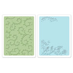 Sizzix - Textured Impressions - Embossing Folders - Garden Set