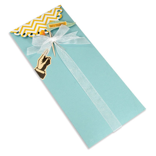 Sizzix - Bigz Pro Die - Envelope, Long Decorative