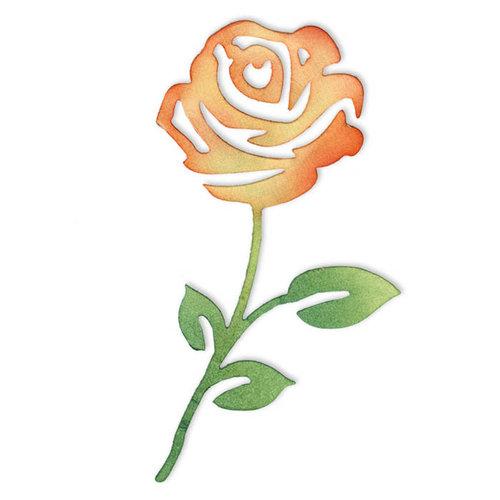 Sizzix - Sizzlits Die - Flower, Rose 2