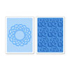 Sizzix - Textured Impressions - Embossing Folders - Doily and Lace Set