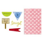 Sizzix - Framelits Die and Embossing Folders - Happy Hearts Set