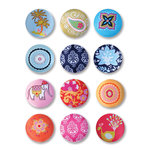 Sizzix - Embellishments - Moroccan Collection - Fabric Buttons