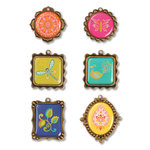 Sizzix - Embellishments - Moroccan Collection - Metal Embellishments 2