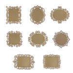 Sizzix - Embellishments - Moroccan Collection - Tiny Wire Frames