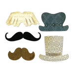 Sizzix - Thinlits Die - Top Hats and Mustaches