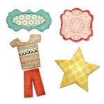 Sizzix - Echo Park - Thinlits Die - Bundle of Joy, Boy