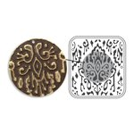 Sizzix - Vintaj - Embossing Folders - DecoEmboss Die - Ikat Pattern