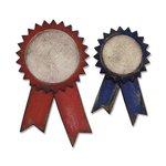 Sizzix - Tim Holtz - Alterations Collection - Bigz Die - Prize Ribbons