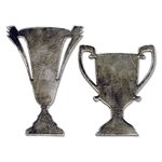 Sizzix - Tim Holtz - Alterations Collection - Bigz Die - Tarnished Trophies