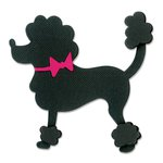 Sizzix - 1950s Collection - Originals Die - Poodle